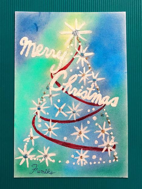 絵手紙(クリスマス)