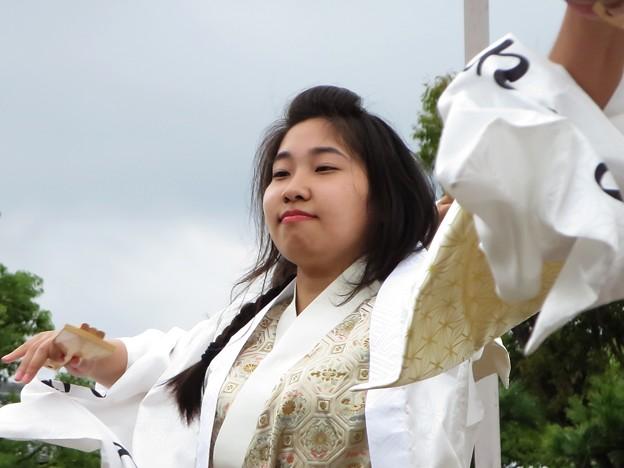 桃山学院大学よさこい連 真輝-SANAGI-さん
