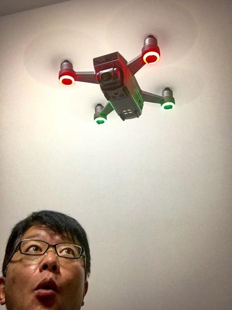 写真: 初飛行 5針