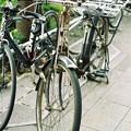 写真: 運搬自転車