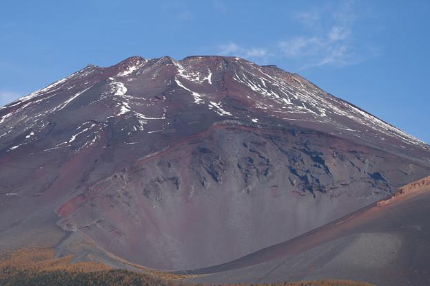 富士、焼けず