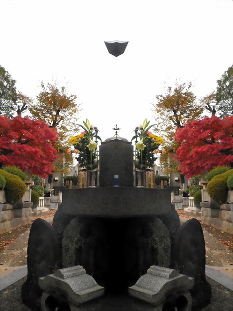 西澄寺-01山門_武家屋敷門c墓地入口-02