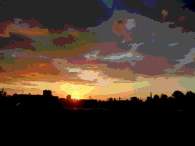 Photos: 不穏な夜明け-01