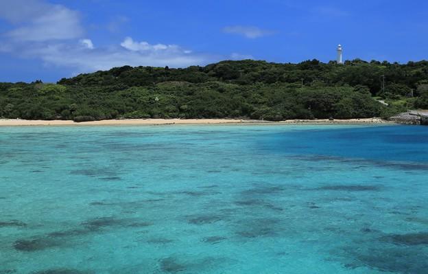写真: 鳩間島