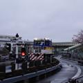 写真: 横浜シーサイドラインの車両基地