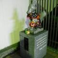 写真: 穴守稲荷駅のコンちゃん