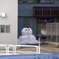 Photos: 牛込柳町の雪だるま