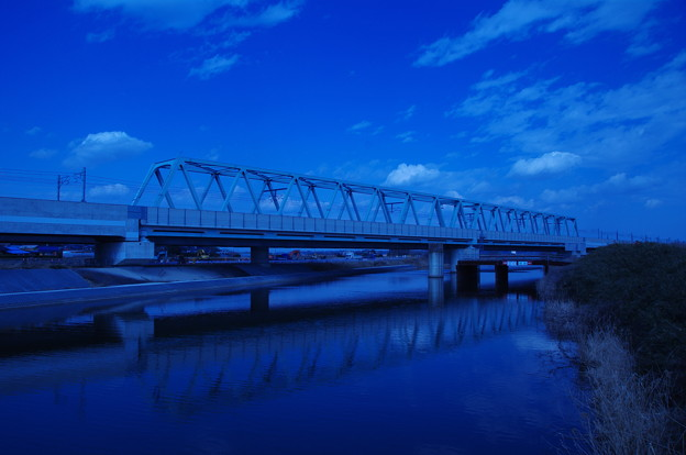 Photos: 成田スカイアクセス線のトラス鉄橋