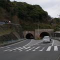写真: 衣笠隧道