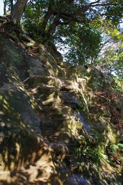 Photos: 鷹取山の鎖場