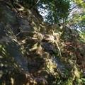 写真: 鷹取山の鎖場