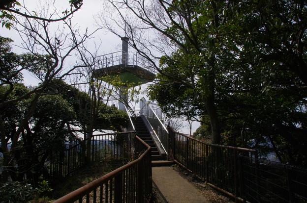 鷹取山頂上(標高139m)