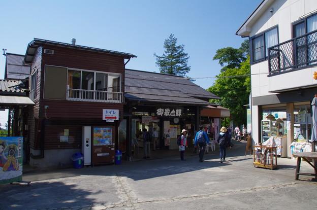 御岳登山鉄道ケーブルカーの御岳山駅