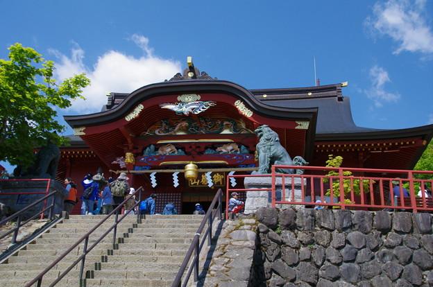 武蔵御嶽神社(標高929m)