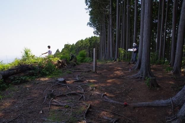 麻生山頂上(標高794m)