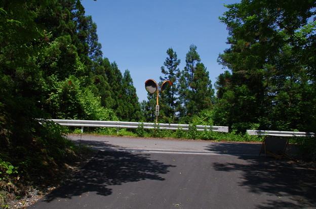 奈良尾峠(標高1125m)