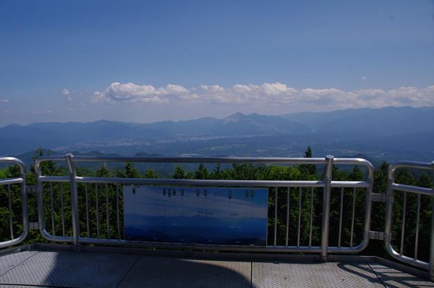 城峯山の展望台