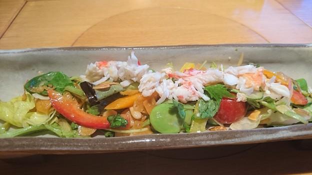 Photos: たらばがにと23品目サラダ