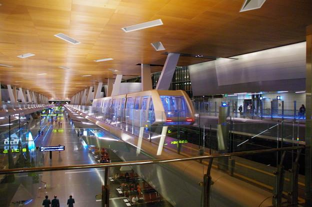 ハマド空港のモノレール