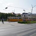デアークフェレンツ広場駅のトラム