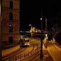 くさり橋付近のトラム