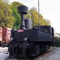 写真: 技術博物館の機関車
