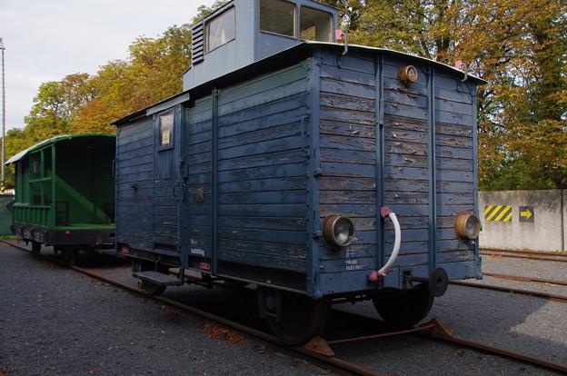 技術博物館の貨車