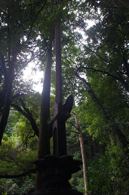 黒山三滝の剣