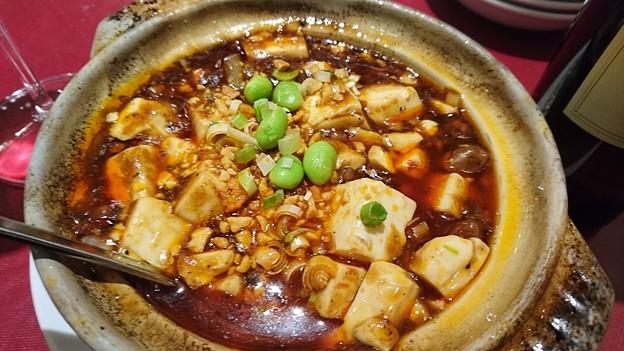 四五六菜館新館の孫麻婆豆腐
