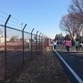 横田基地のマラソンとタンク列車