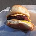 横田基地のハンバーガー