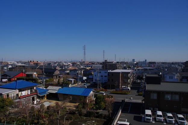 西光院からの筑波山の眺め