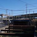 Photos: 東北自動車道と赤堀用水路