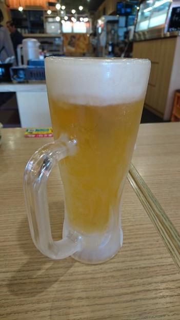 目利きの銀次の生ビール