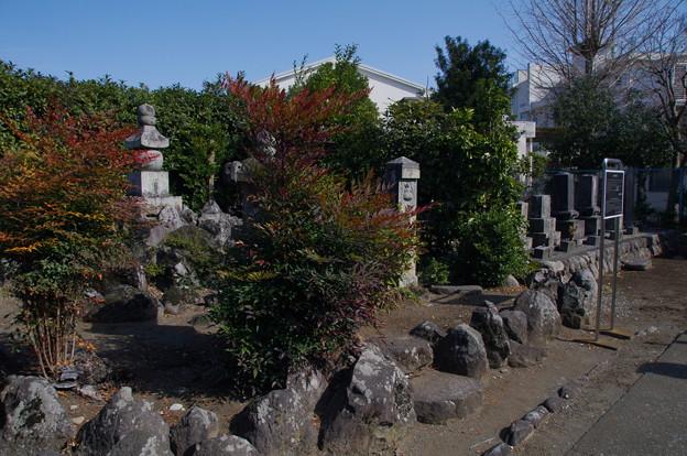 中里介山先生の墓