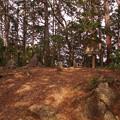 越上山頂上(標高566.3m)
