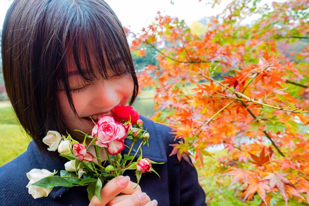 Photos: 秋笑み