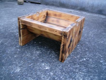 Photos: 木のプランター