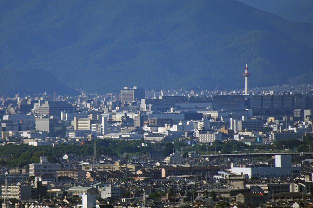 京都市内が 少し見えます