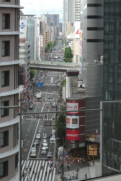 中崎町へ通じる道