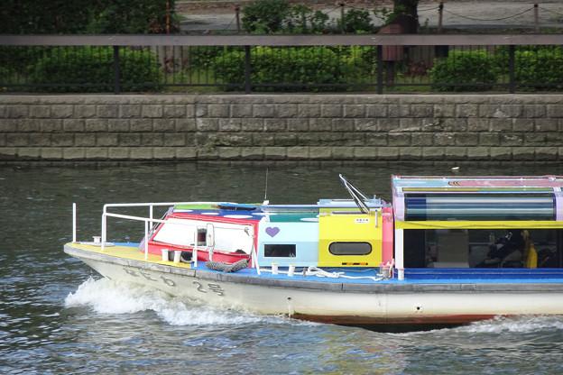 大川を行く