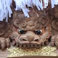 今津地車 獅子の彫り物
