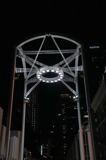 大阪駅前ビル イルミ