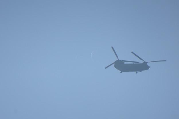 自衛隊ヘリコプター