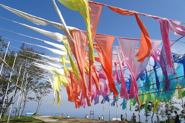 虹のカーテン