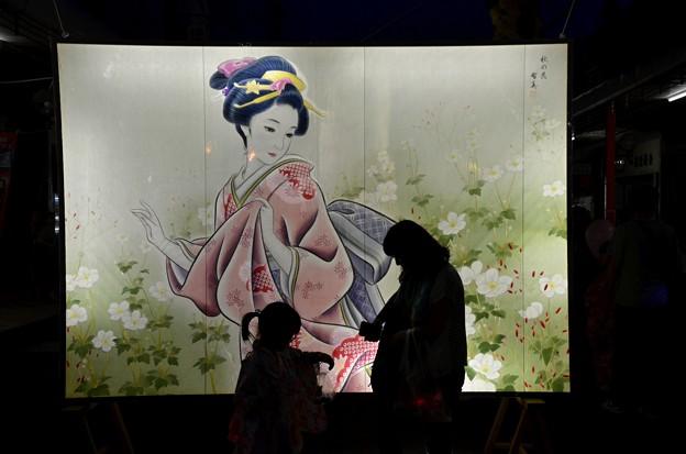 絵灯篭祭り