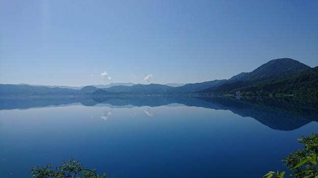 田沢湖 雲