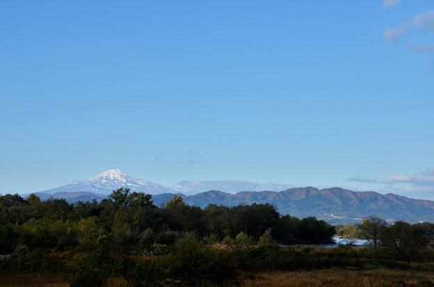 鳥海山~初雪2