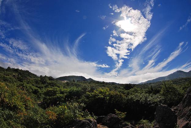 湧きあがる雲