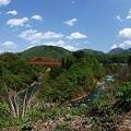 Photos: 田舎の赤い橋